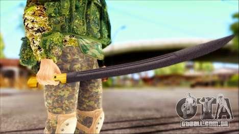 Shashka Cossaco para GTA San Andreas segunda tela