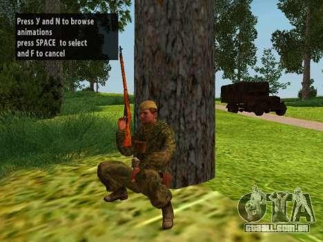 Os soldados do exército vermelho para GTA San Andreas sétima tela