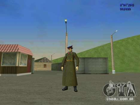 Felix Edmundovich Dzerzhinsky para GTA San Andreas quinto tela