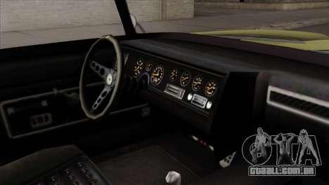 GTA 5 Lampadati Casco para GTA San Andreas vista direita
