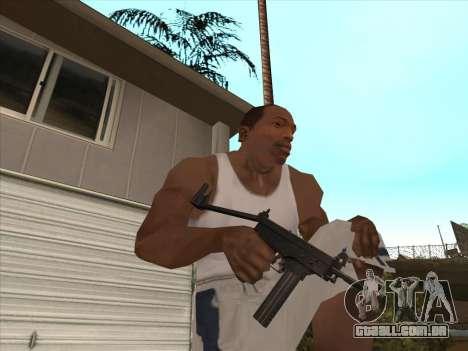 Russo submachine guns para GTA San Andreas sétima tela