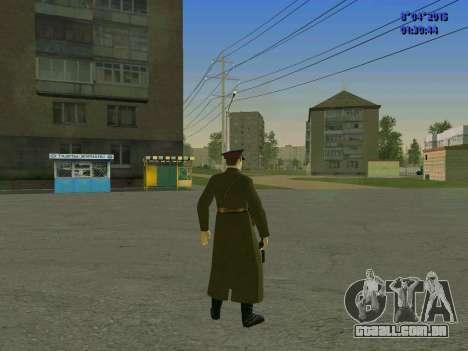 Felix Edmundovich Dzerzhinsky para GTA San Andreas por diante tela
