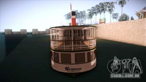 Indonesia Ferri para GTA San Andreas traseira esquerda vista