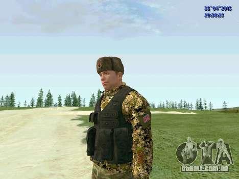 Lutador RPA para GTA San Andreas segunda tela