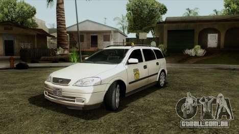Opel Astra G 1999 Taxi para GTA San Andreas