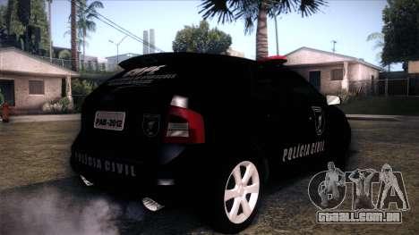 Ford Edge COPE - PCSC para GTA San Andreas esquerda vista