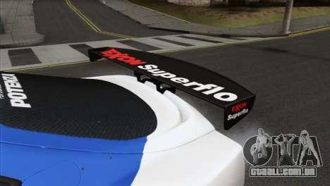Toyota Supra 2005 EXXON SuperFlo para GTA San Andreas vista direita