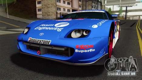 Toyota Supra 2005 EXXON SuperFlo para GTA San Andreas
