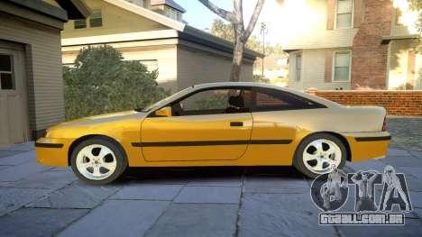 Opel Calibra v2 para GTA 4 esquerda vista