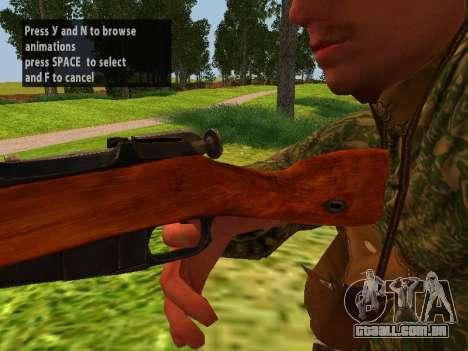 Os soldados do exército vermelho para GTA San Andreas por diante tela