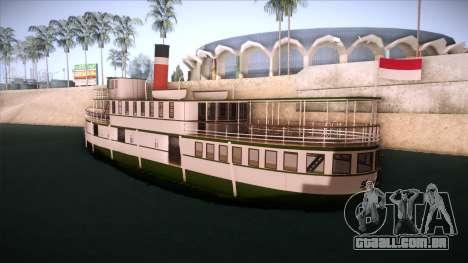 Indonesia Ferri para GTA San Andreas esquerda vista