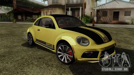 Volkswagen New Beetle 2014 GSR para GTA San Andreas