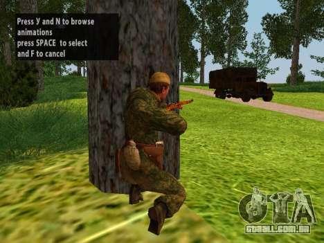 Os soldados do exército vermelho para GTA San Andreas terceira tela