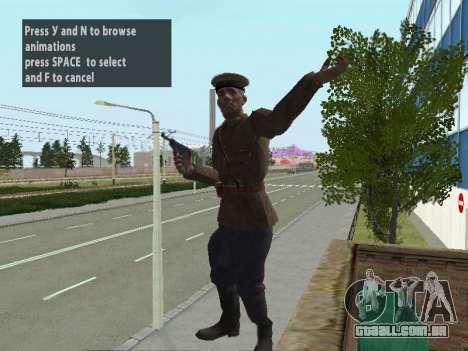 O Comissário De Markov para GTA San Andreas