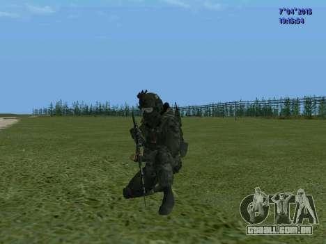 SWAT para GTA San Andreas por diante tela