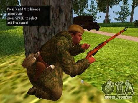 Os soldados do exército vermelho para GTA San Andreas sexta tela