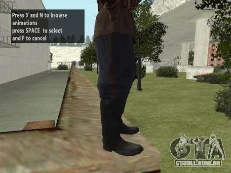 O Comissário De Markov para GTA San Andreas oitavo tela