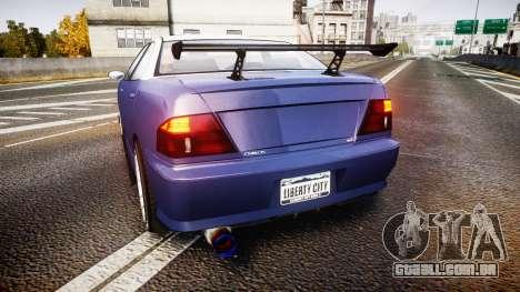 Dinka Chavos SXX v2.0 para GTA 4 traseira esquerda vista