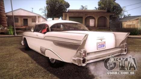 GTA V Declasse Tornado para GTA San Andreas esquerda vista