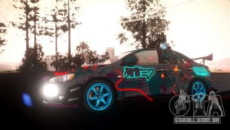 SPES ENB para GTA San Andreas segunda tela