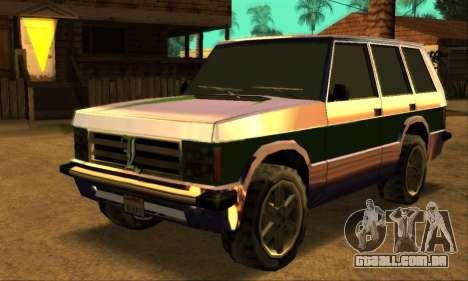 Luni Huntley para GTA San Andreas interior