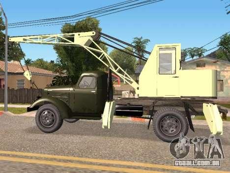 ZIL K para GTA San Andreas esquerda vista