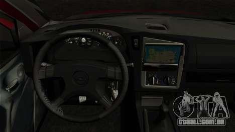 Opel Astra G Custom 1999 para GTA San Andreas traseira esquerda vista