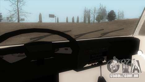 Tatra 815 para GTA San Andreas vista traseira