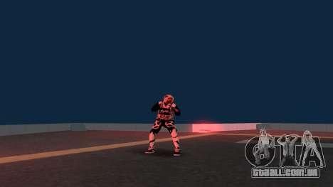 Substituindo os sem-teto v2 para GTA San Andreas quinto tela