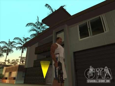 Russo submachine guns para GTA San Andreas segunda tela
