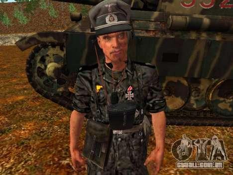 Alemão comandante de tanque para GTA San Andreas