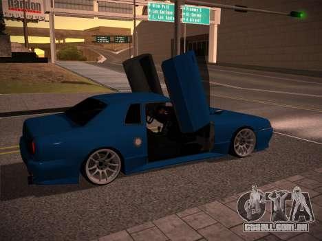 Elegy GunkinModding para GTA San Andreas esquerda vista