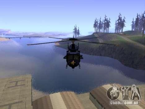 GTA 5 Valkyrie para GTA San Andreas vista interior