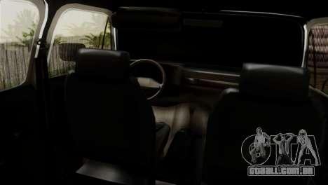 Chevrolet Suburban Dually para GTA San Andreas traseira esquerda vista