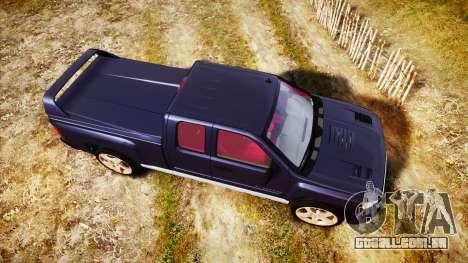 Chevrolet Silverado 1500 LT Extended Cab wheels2 para GTA 4 vista direita