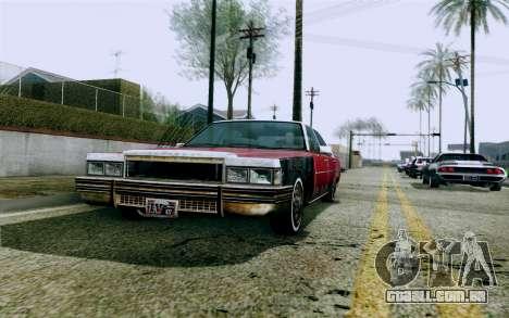 DirectX Test 1 - ReMastered para GTA San Andreas sexta tela