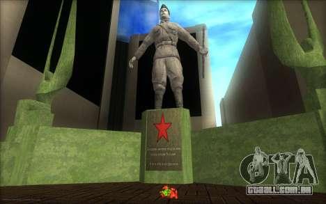 O monumento para o Dia da Vitória para GTA San Andreas