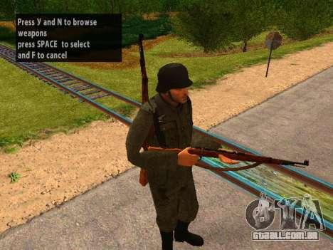 Soldados alemães para GTA San Andreas terceira tela