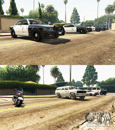 GTA 5 Police mod terceiro screenshot