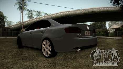 Volkswagen Jetta GLI Edition 30 2014 para GTA San Andreas esquerda vista