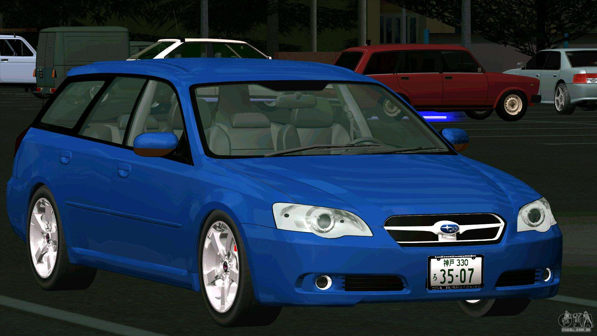 subaru legacy touring wagon 2003 para gta san andreas. Black Bedroom Furniture Sets. Home Design Ideas