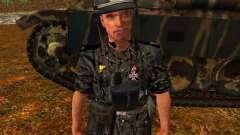 Alemão comandante de tanque