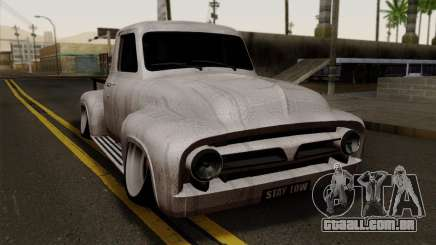 Ford F-100 1956 Stay Low para GTA San Andreas