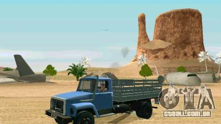 GAZ 3309 kung para GTA San Andreas