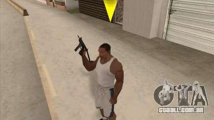 Russo submachine guns para GTA San Andreas