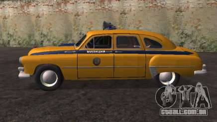 GÁS -12 ZIM Soviético milícia para GTA San Andreas