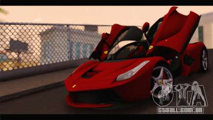 Ferrari LaFerrari 2014 para GTA San Andreas