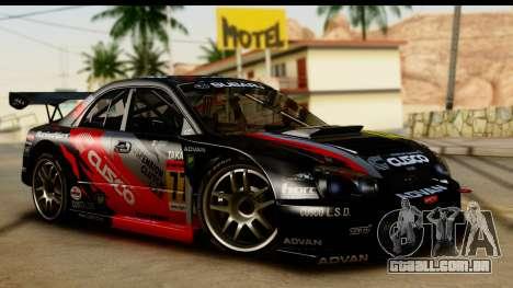Subaru Impreza WRX STI 2003 JGTC para GTA San Andreas