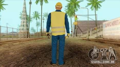 Takedown Redsabre NPC Shipworker v1 para GTA San Andreas segunda tela