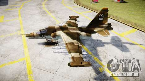 O su-39 para GTA 4 esquerda vista